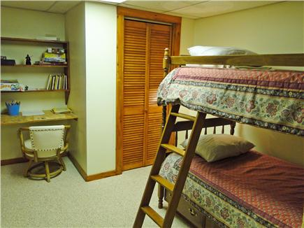 Brewster Cape Cod vacation rental - Lower level bedroom, adjacent to rec room