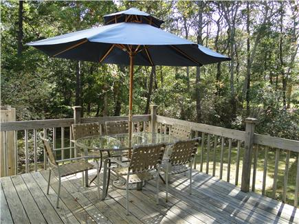 Brewster Cape Cod vacation rental - Deck area with grill overlooking private yard