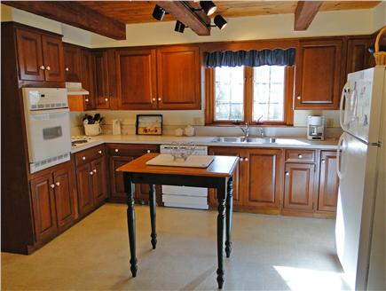 Brewster Cape Cod vacation rental - Full kitchen with breakfast dining area