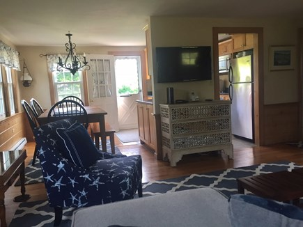 Orleans Cape Cod vacation rental - Look from living area toward dining and kitchen