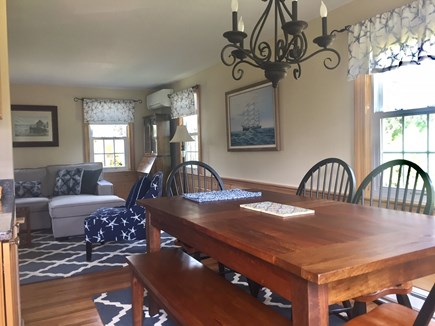 Orleans Cape Cod vacation rental - Dining area look toward living area