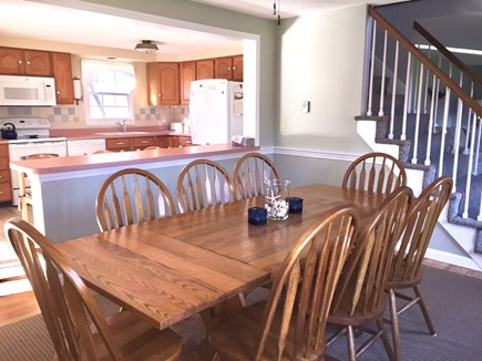 Orleans Cape Cod vacation rental - Look toward kitchen from dining area