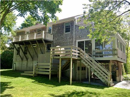 Orleans Cape Cod vacation rental - Back of Home