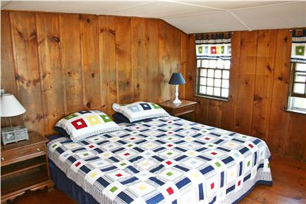 Harwich Port Cape Cod vacation rental - Second floor master bedroom - king bed and ocean views