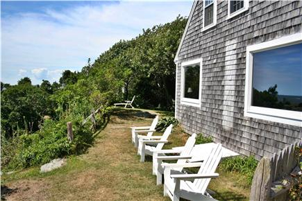 Harwich Port Cape Cod vacation rental - Perfect spot to relax on coastal bluff overlooking the ocean