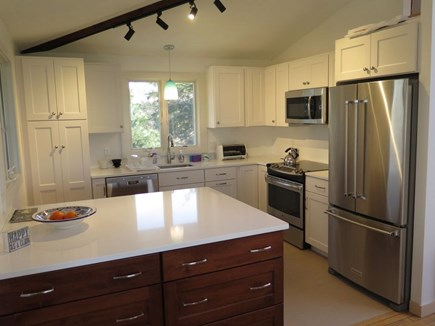 North Truro Cape Cod vacation rental - Newly renovated kitchen with stainless steel appliances