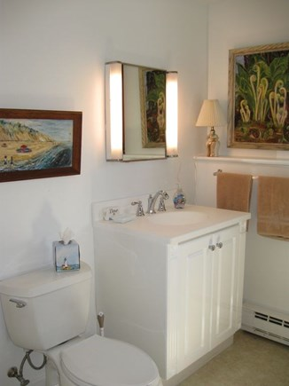North Truro Cape Cod vacation rental - Full bathroom with tub and shower, first floor