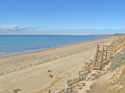 North Truro Cape Cod vacation rental - View of our beach, which is north of Great Hollow Beach