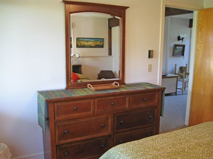 North Truro Cape Cod vacation rental - Another view of bedroom #3, first floor, queen bed