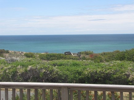 North Truro Cape Cod vacation rental - View from front deck of Cape Cod Bay