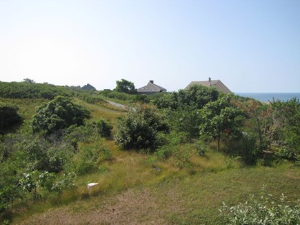 North Truro Cape Cod vacation rental - View of surrounding neighborhood from master bedroom