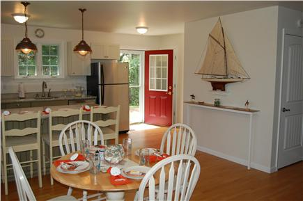 Chatham Cape Cod vacation rental - The dining area seats 4 with room for 4 more at the breakfast bar