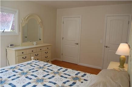 Chatham Cape Cod vacation rental - The master bedroom looking from the window wall