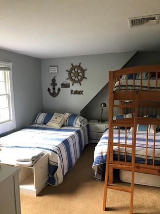 Harwich Cape Cod vacation rental - Guest room with 2 full beds and a twin