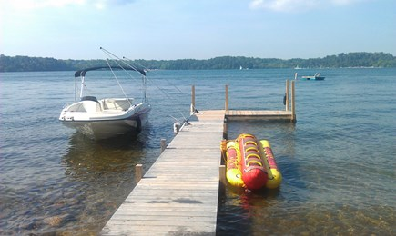Harwich Cape Cod vacation rental - Beautiful private dock on crystal clear Long Pond.