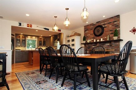 Harwich Cape Cod vacation rental - Dining room with gorgeous view of Long Pond.