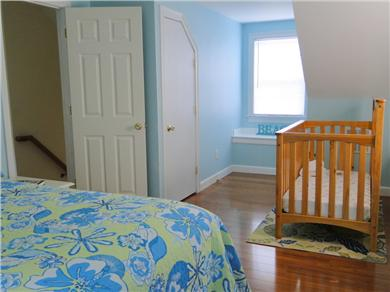 Hyannis vacation rental home in cape cod ma 02601 sea street beach is just 3 mile id 20840 Master bedroom with a crib