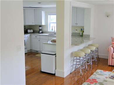 Hyannis Cape Cod vacation rental - Kitchen with breakfast bar