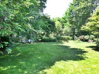West Falmouth Cape Cod vacation rental - Back yard looking at bike path & 200 yds from W Falmouth Harbor