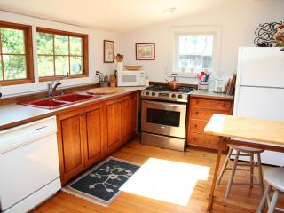 West Falmouth Cape Cod vacation rental - Bright skylighted kitchen with all the amenities.