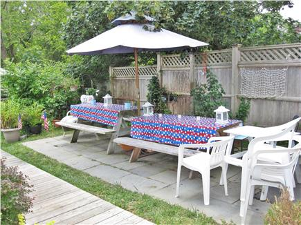 Eastham Cape Cod vacation rental - Outside patio or apartment, dining alfresco