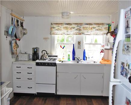 Eastham Cape Cod vacation rental - Mainhouse kitchen, fully stocked