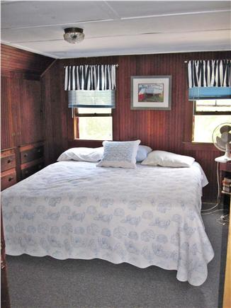 Eastham Cape Cod vacation rental - Master bedroom, king bed,beadboard throughout house