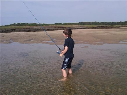 East Sandwich Beach Cape Cod vacation rental - Fishing is Great!!