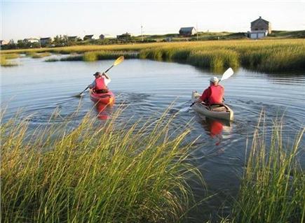 East Sandwich Beach Cape Cod vacation rental - Kayak on nearby Scorton Creek