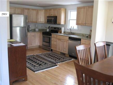 East Sandwich Beach Cape Cod vacation rental - Modern Fully Furnished Kitchen with wine cooler fridge