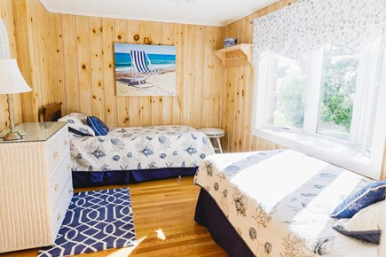 Popponesset Beach Cape Cod vacation rental - Bedroom 2 with twins