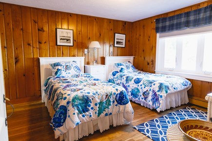 Popponesset Beach Cape Cod vacation rental - Bedroom 3 with twins