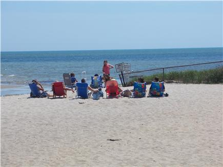 Cotuit Cape Cod vacation rental - Loop Beach, 4 minuute walk from the house, lifeguard on duty