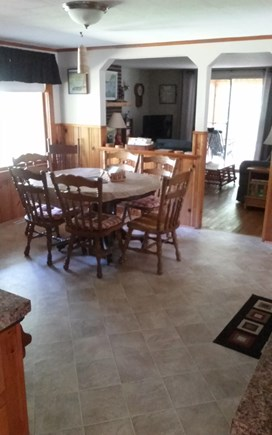 Cotuit Cape Cod vacation rental - Dining area/ Kitchen