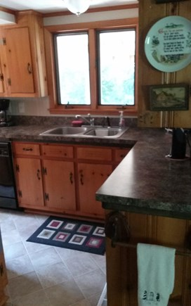 Cotuit Cape Cod vacation rental - Kitchen with a lot of storage and counter space