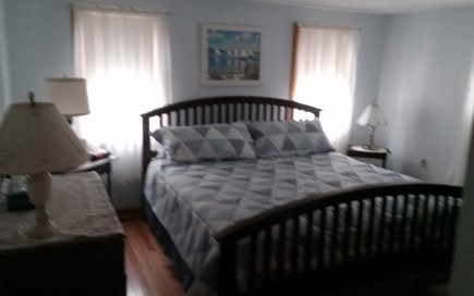 Cotuit Cotuit vacation rental - Master bedroom, king bed