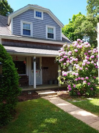 Cotuit Cape Cod vacation rental - Front porch and entrance
