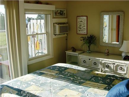 Chatham Cape Cod vacation rental - 1st Flr. Queen-Size Bdrm. w/Full Bath,  A/C Unit & Slider to Deck