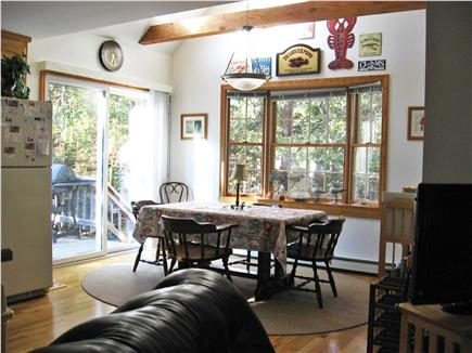 Eastham Cape Cod vacation rental - Dining area (vaulted ceiling w/ skylight)