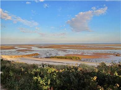 Brewster Cape Cod vacation rental - View of the Bay at low tide
