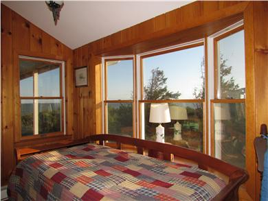 Brewster Cape Cod vacation rental - Daybed alcove with views