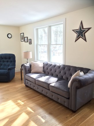 Eastham Cape Cod vacation rental - View of the living room sofa