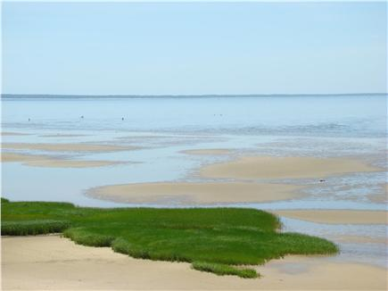 Eastham Cape Cod vacation rental - Low tide at the Bay!