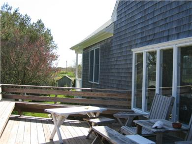 Chatham Cape Cod vacation rental - Side porch, great for grilling