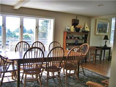 Chatham Cape Cod vacation rental - Dining room is bright and spacious