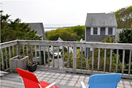 Chatham Cape Cod vacation rental - Sun deck off queen bedroom loft.