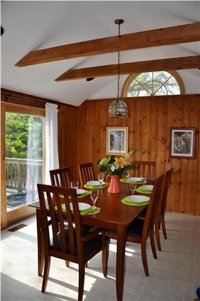 Chatham Cape Cod vacation rental - Large dining room with seating for six.