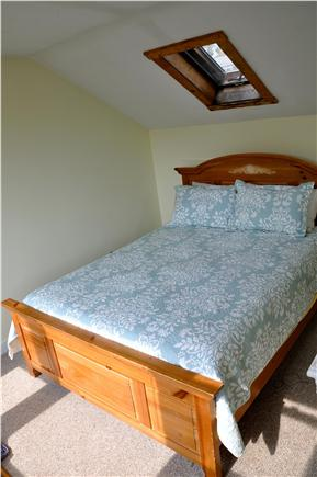 Chatham Cape Cod vacation rental - Queen BR loft has flat-panel TV & a view of Nantucket Sound.