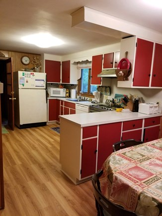 Orleans Cape Cod vacation rental - Well-stocked roomy kitchen with separate dining area seats 6.