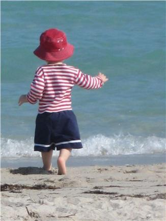 Orleans Cape Cod vacation rental - Enjoying the warm, gentle waters of Skaket Beach a 1/2 mile away